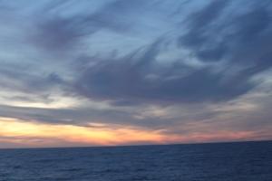 Sun rise at Cape Horn