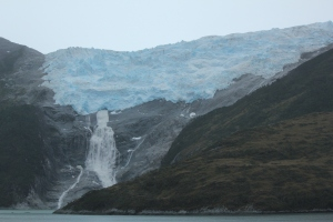 Glaciers along the Beagle Channel