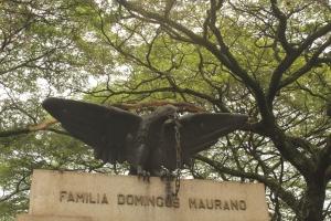 Statue in Sao Paulo cemetery