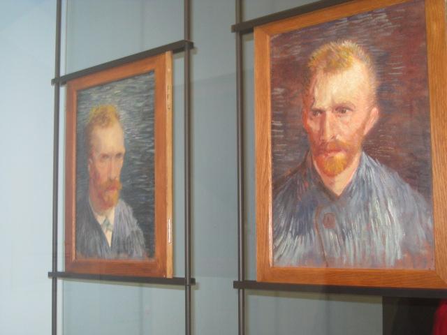 Van Gogh self-portraits
