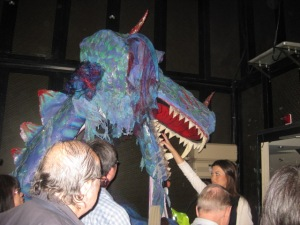 Backstage with the Dragon on the Celebrity Constellation