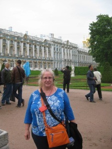 Cat Starr at Peterhof