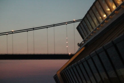 Will we make it under the The Ostbroen Bridge