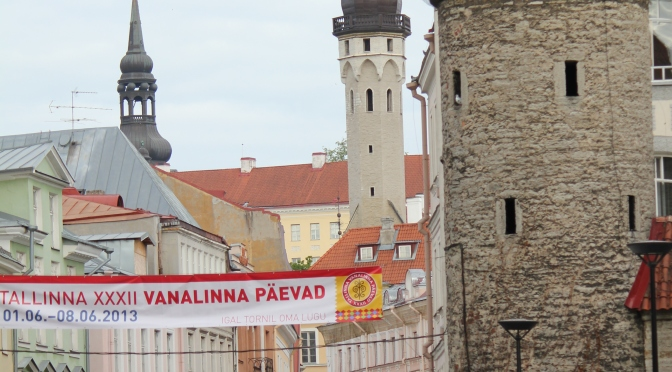 Day 12 Tallinn – Getting lost in a walled city