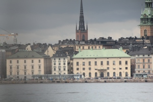 Gamla Stan from the Sea