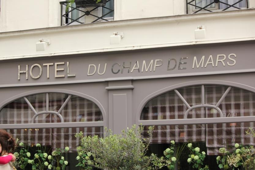 Hotel du Champs de Mars