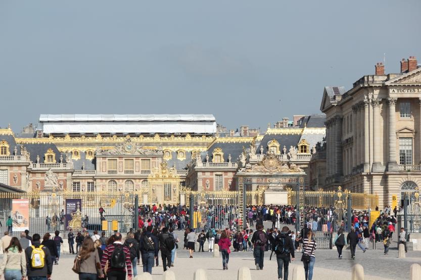 Lines at Versailles