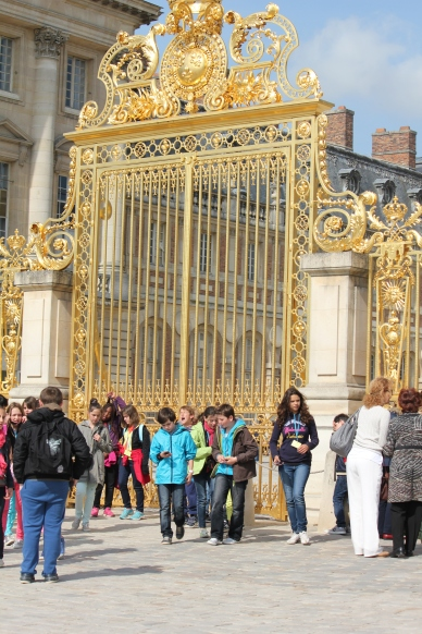 Gates at Versailles