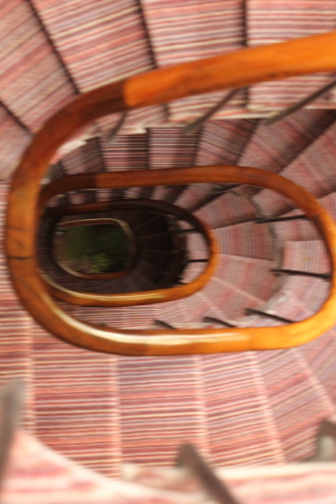 Hotel Spiral Staircase