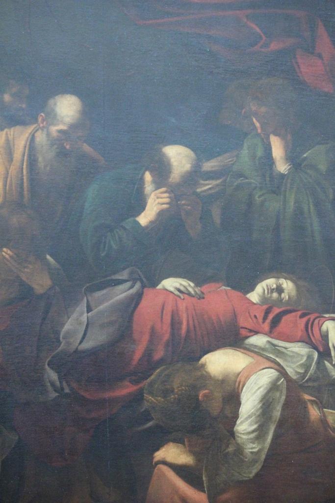 Caravaggio's La Mort de Vierge