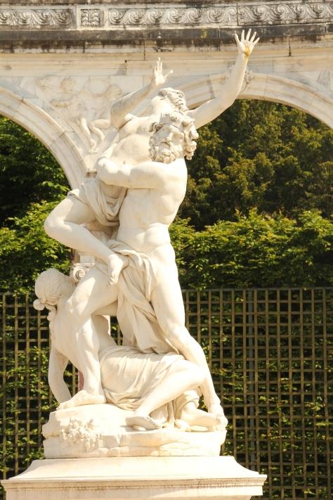 Statues in Versailles Garden