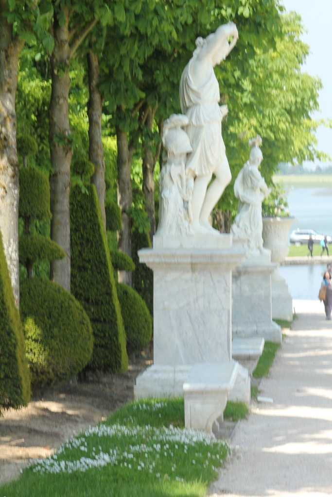 Statues leading to Little Venice