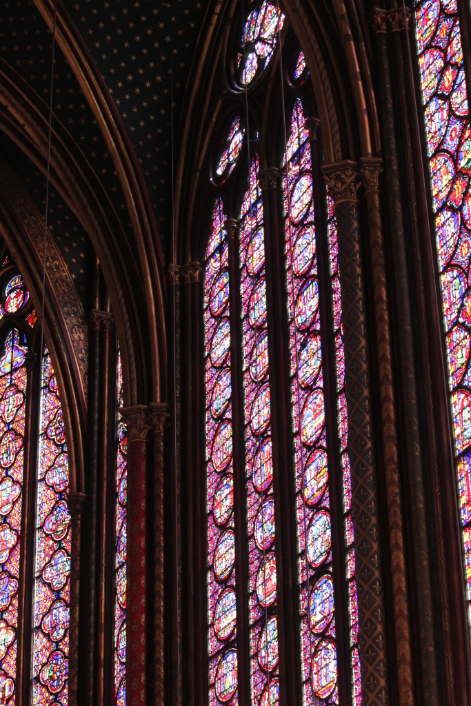 Stained Glass Windows in Ste. Chappelle