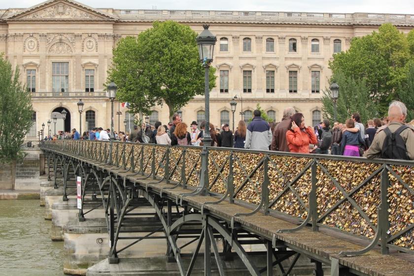 Lover's Locks on Bridge