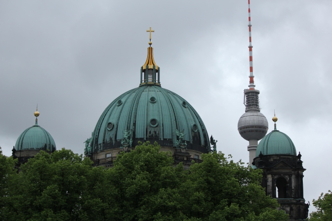A to Z Challenge: B = Berliner Dom