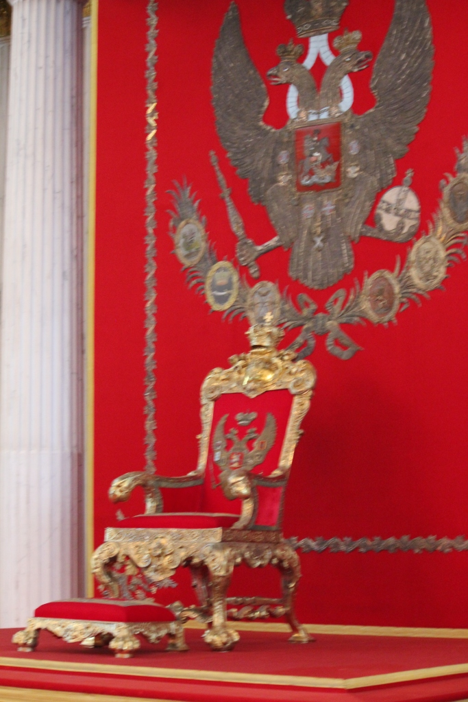 Throne in the Hermitage