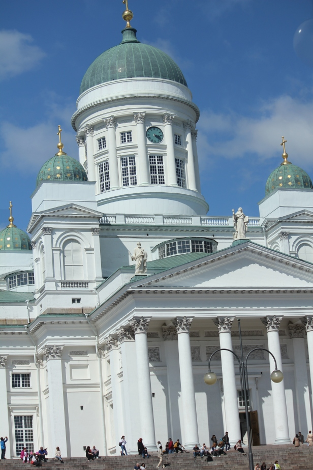 Another beautiful church for a wedding in Helsinki