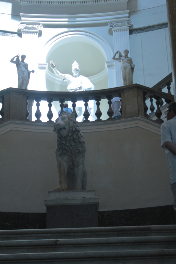 Entrance to Naples Archaeological Museum