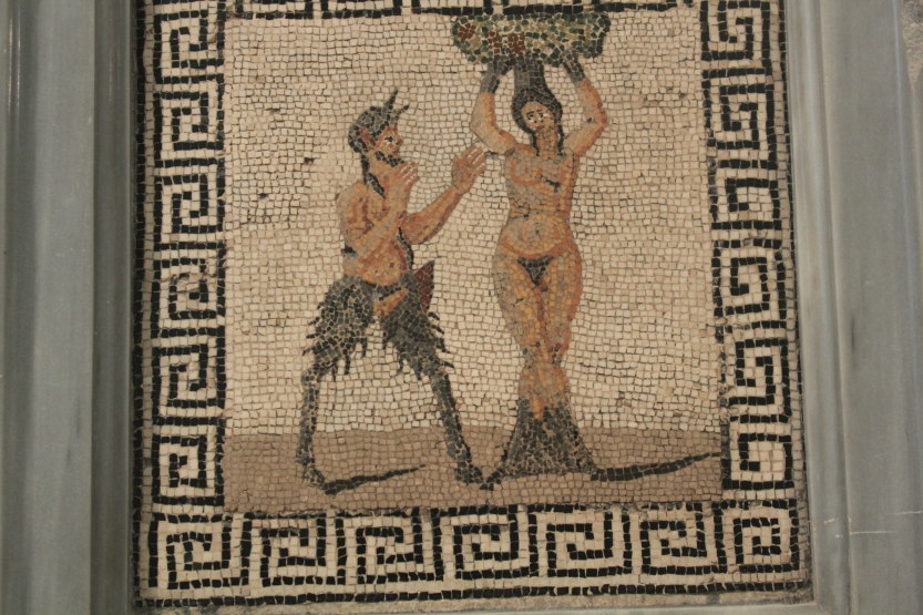 Mosaic from Naples Archaeological Museum