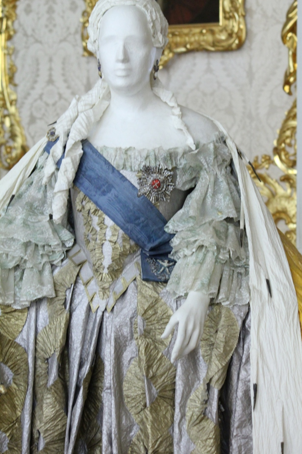 Dress that was in the portrait of Catherine the Great