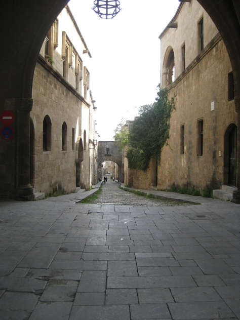 Avenue of the Knights