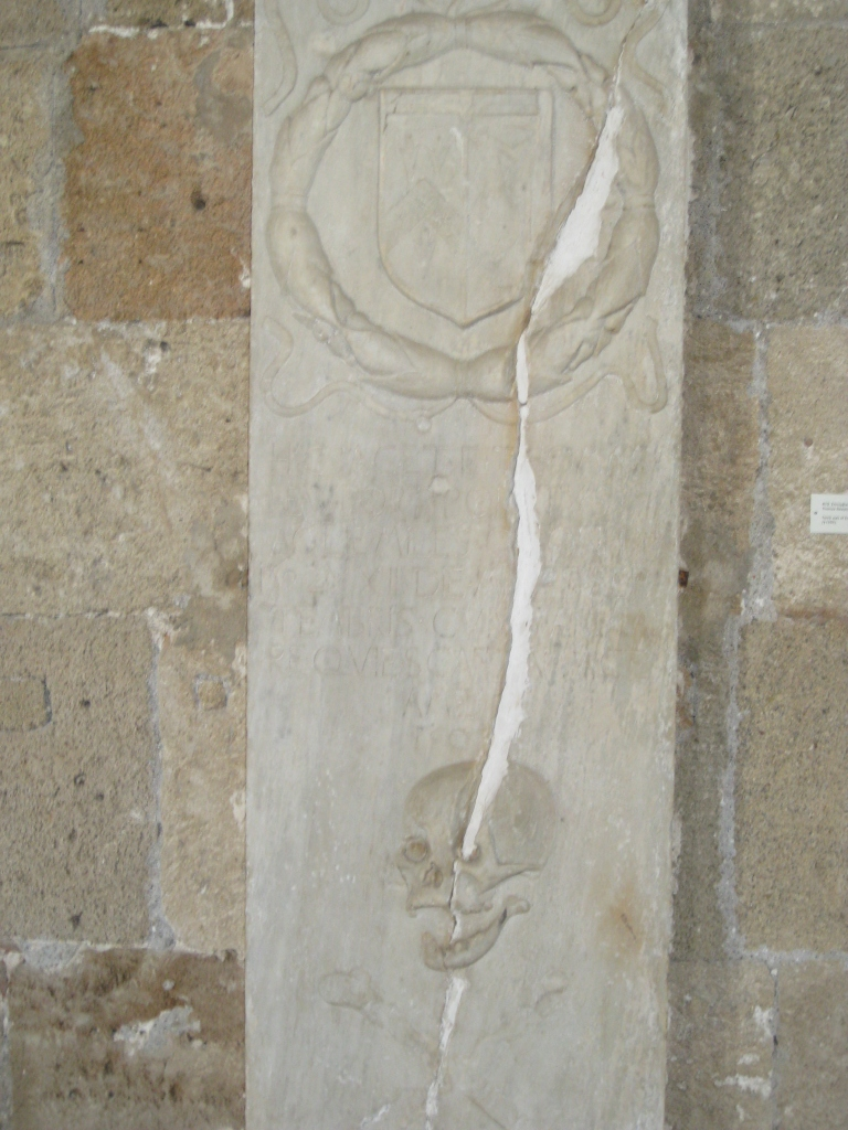 Grave marker in the Archaeology Museum