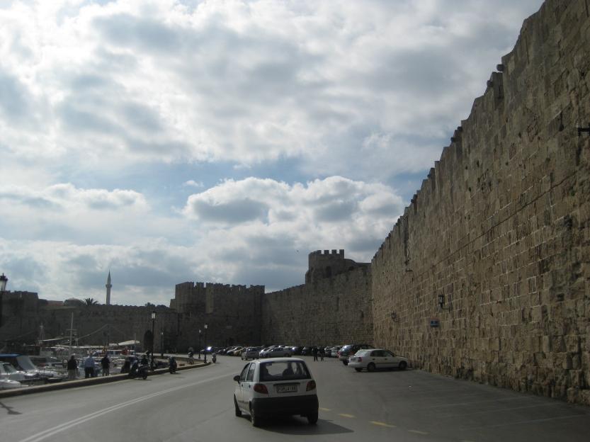 Outside the walls