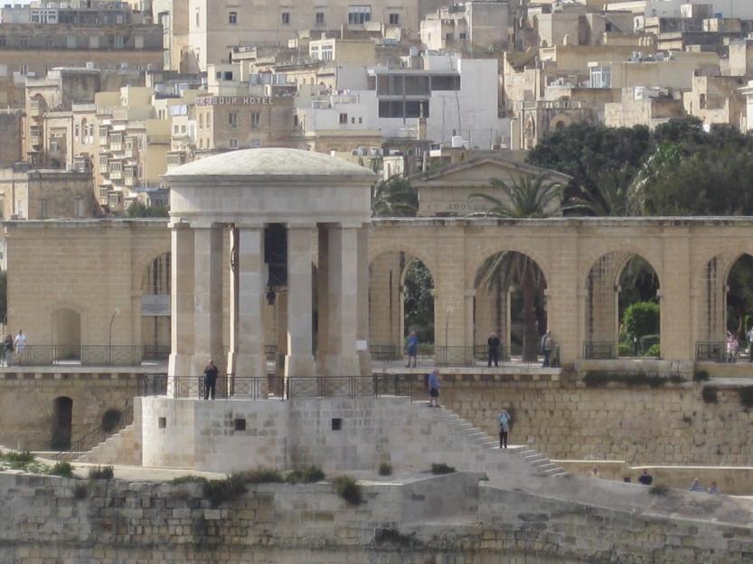 View of the Upper Barrakka Gardens