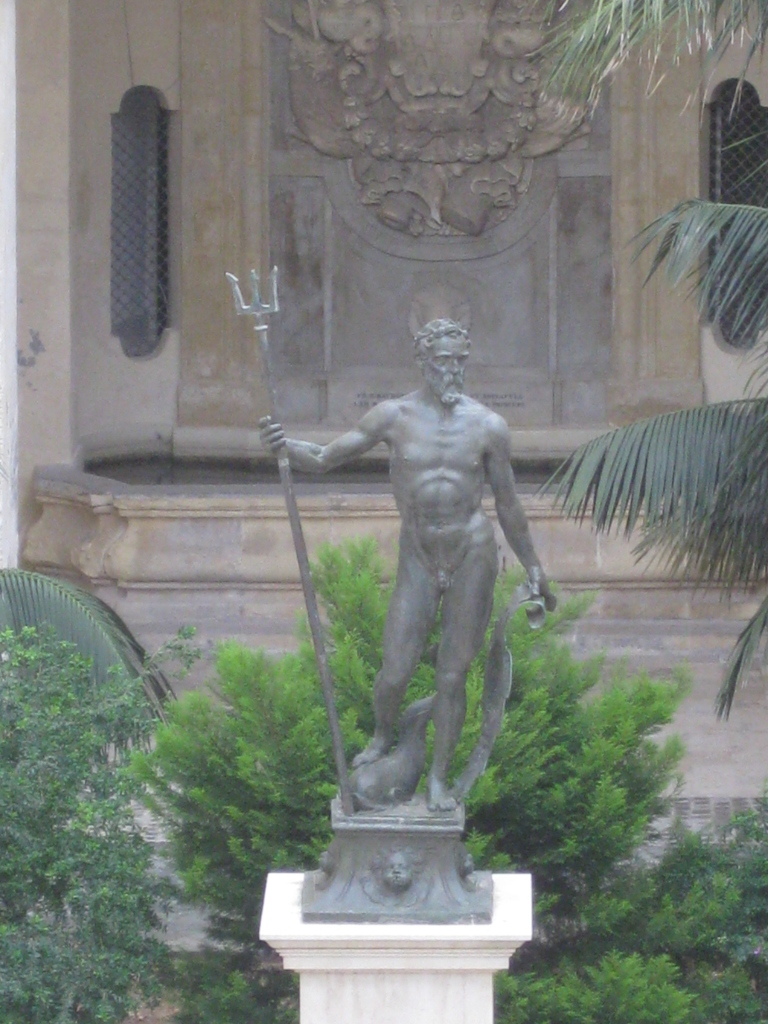 Neptune's Courtyard at the Grandmasters Palace