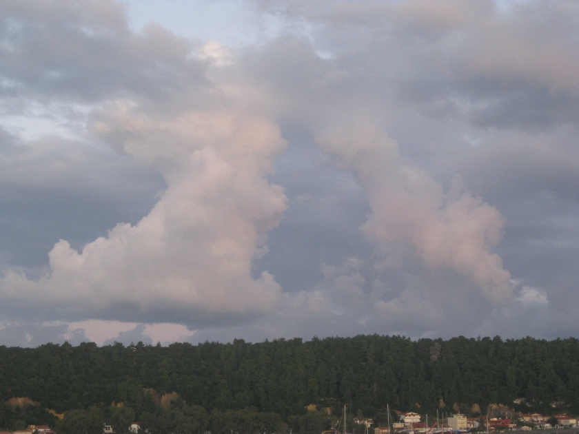 Clouds over Olympus