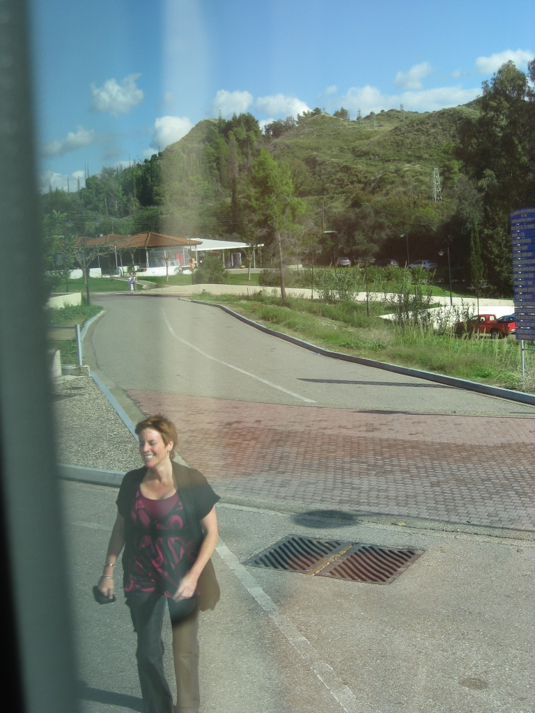 Returning with lost camera