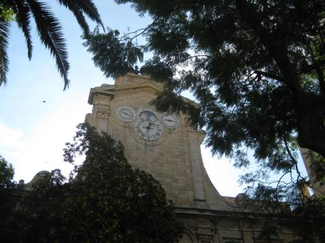 Clock tower at the Grandmasters Palace