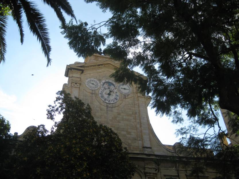 Clock tower at the Grandmasters Palace