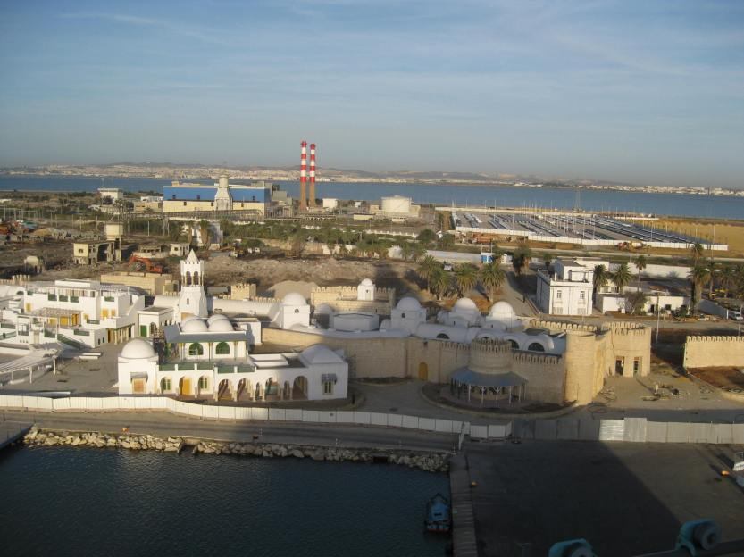The port of Tunis, Tunisia