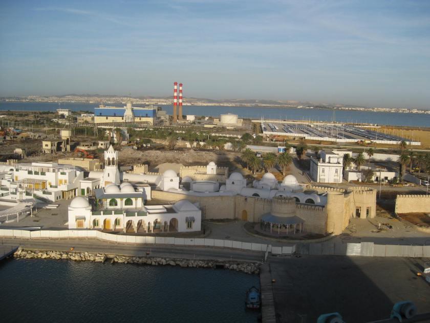 The port of Tunis, Tunisia