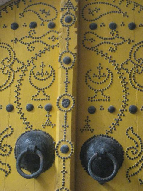 Door in Tunis
