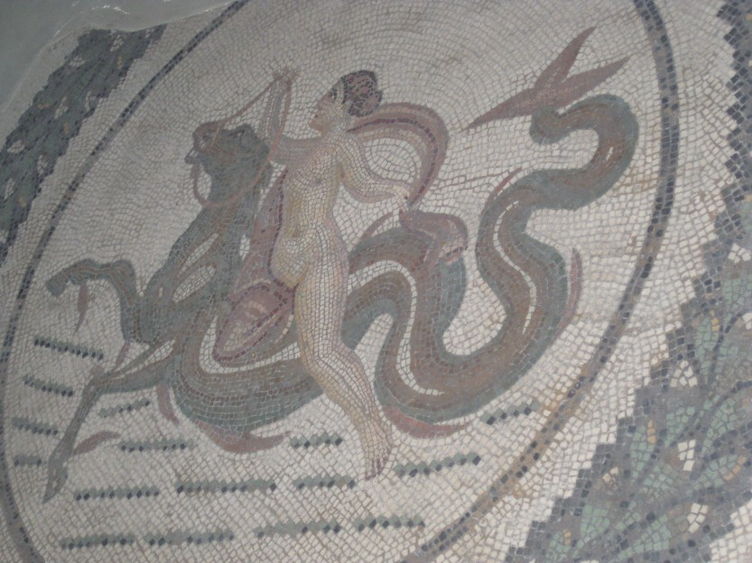 Mosaic in Bardo Museum