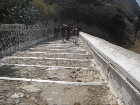 Stairs from Fira