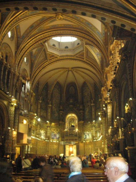Basilica of Montserrat, Catalonia