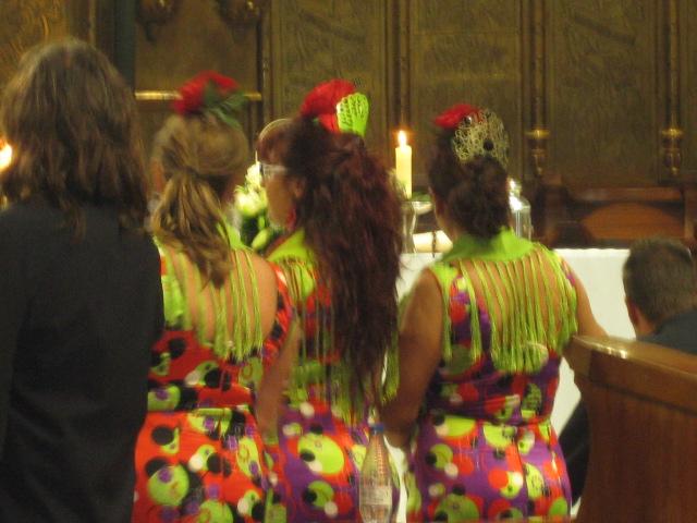 The wedding at Montserrat