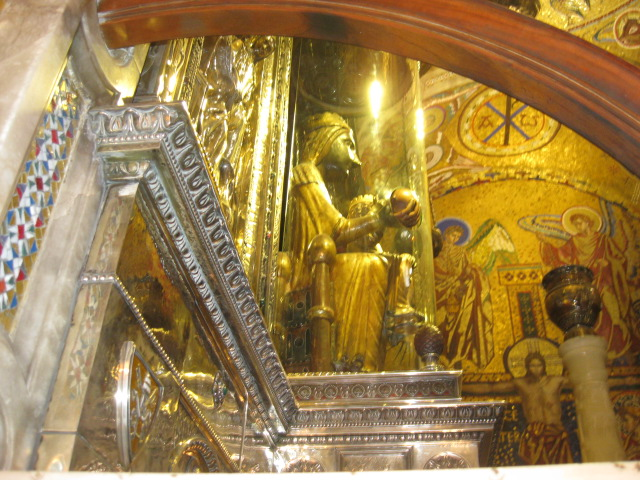 The Black Madonna at Montserrat