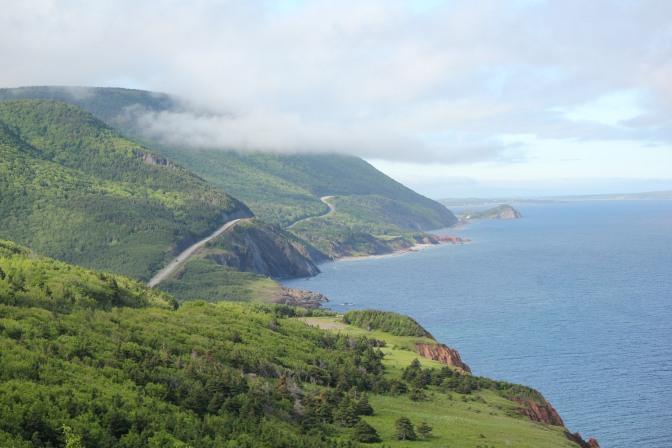 Overwhelmed by Cape Breton Island