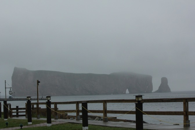 The beauty of Percé, Quebec