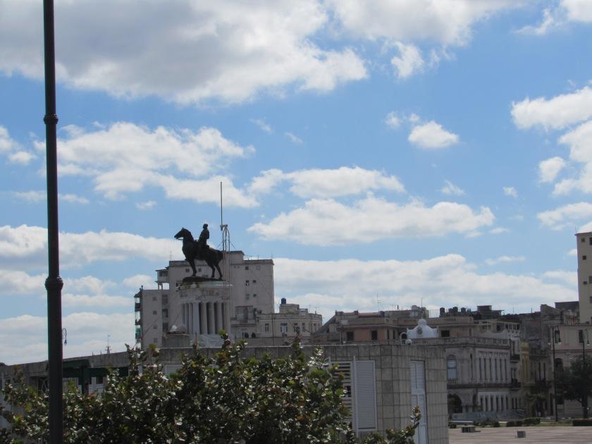 Statue of General in Havana