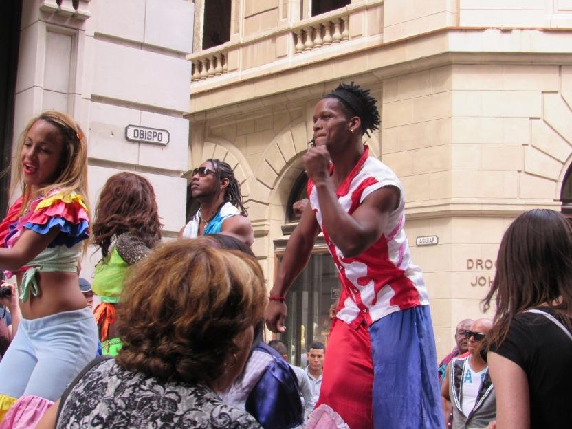 Samba Dancers on Obispo