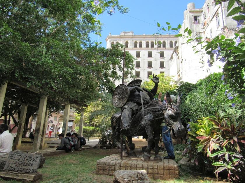 Sancho statue