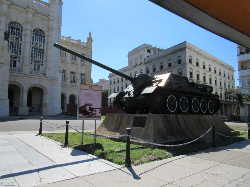Fidel's tank