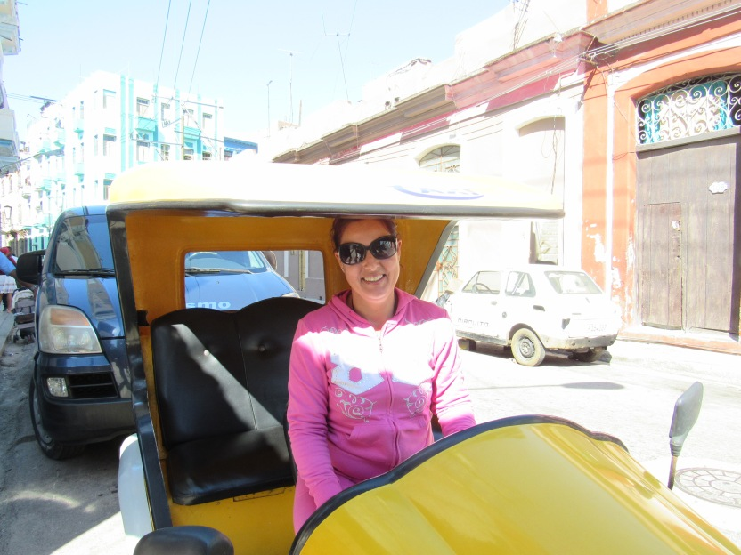 Nadia and the Coco Taxi