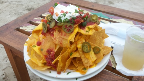 Nachos at Margaritaville