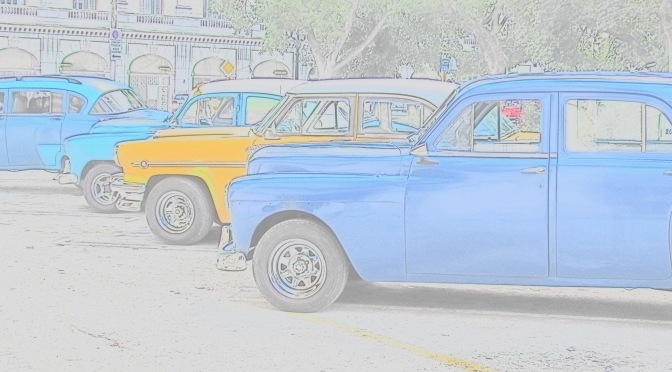A is for Autos in Havana